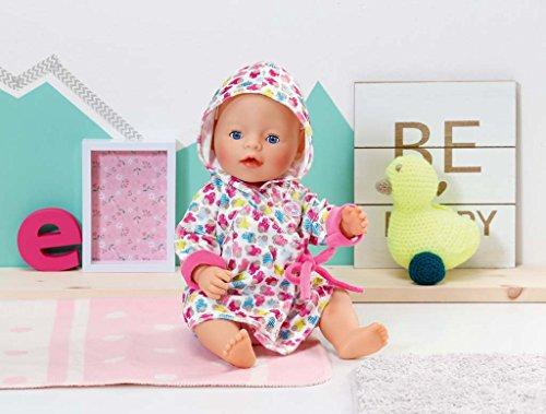 Zapf Creation 822463 Baby Born Bademantel Rosa